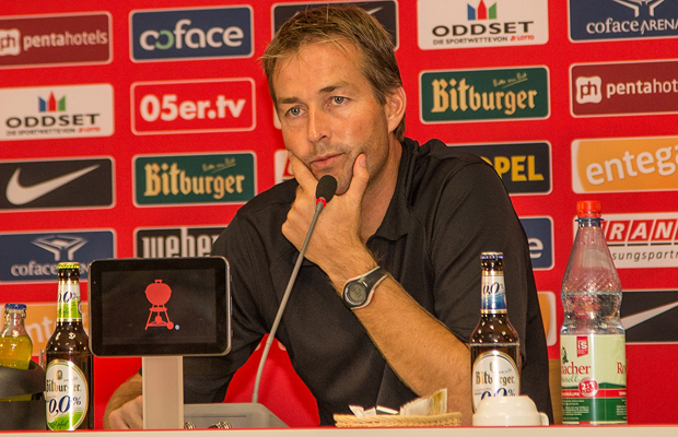 Press Conference at 1. FSV Mainz 05, 18-09-2014
